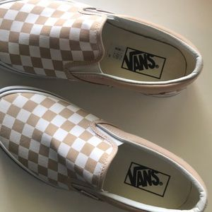 vans leather slip on frappe